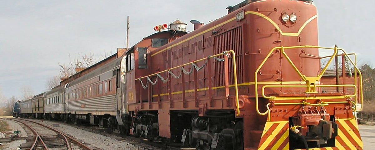 Our Excursion Train Ready to Go !