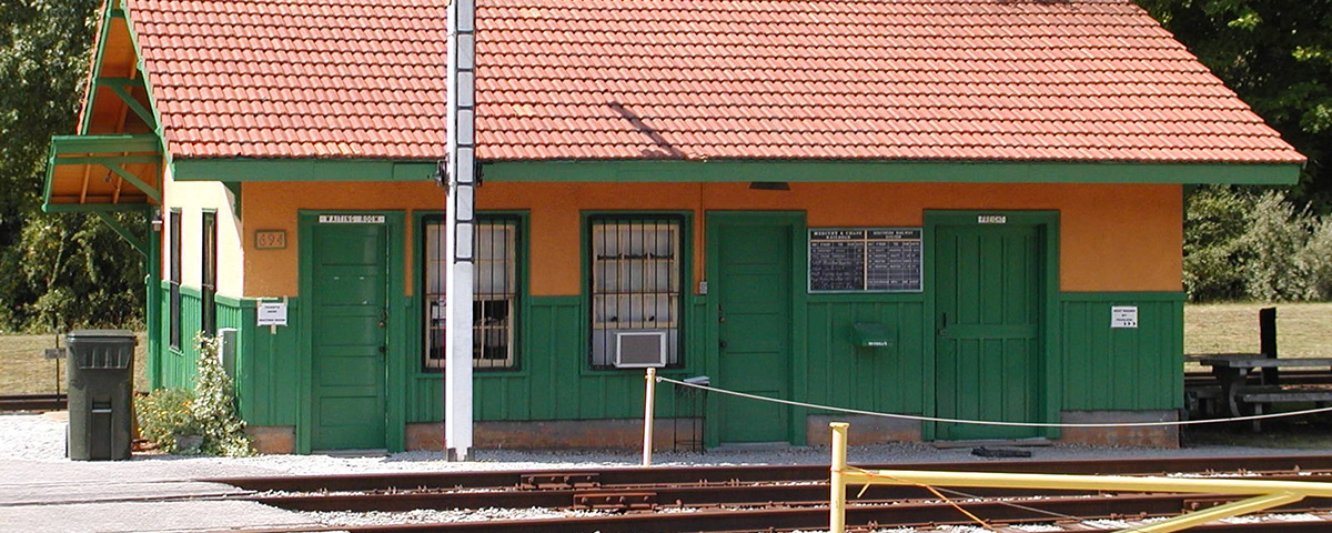 North Side of Chase Depot